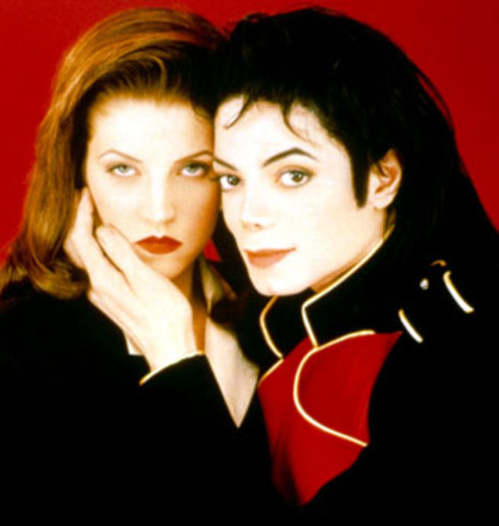 marriage of Michael and Lisa Marie Presley