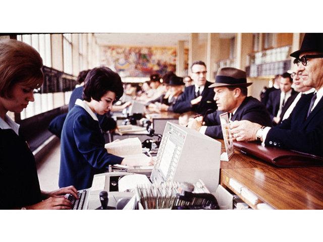IBM´s SABRE reservation system, set up for American Airlines.