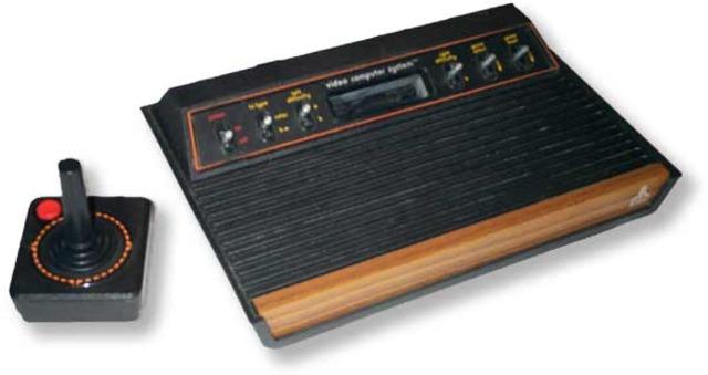 Atari released the Atari Video Computer System (VCS) later renamed the Atari 2600.