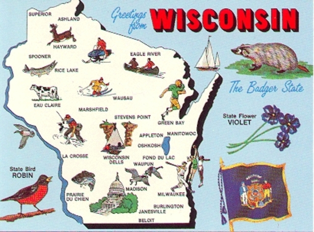 Wisconsin 30th state