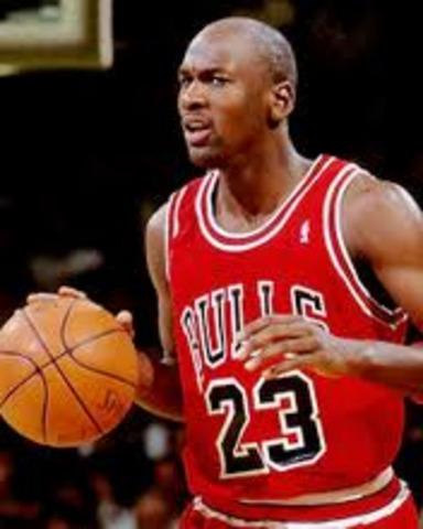 Sports and music: Micheal Jordan