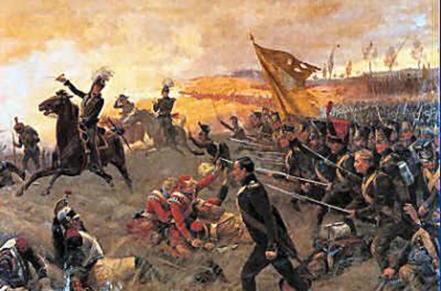 Battle of Waterloo.