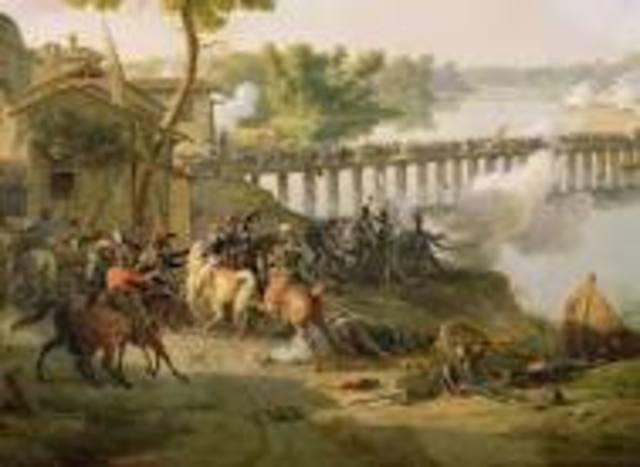 Napoleon wins the Battle of Lodi