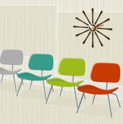 Fashion and Entertainment:  American Modern Furniture Comes into Homes