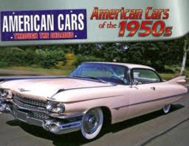 Fashion and Entertainment:  Cars have Tail Fins and Chrome