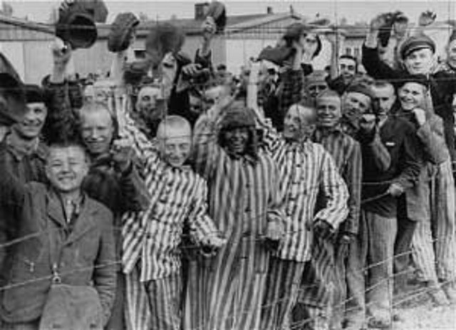 World Events: Liberation of Dachau concentration camps