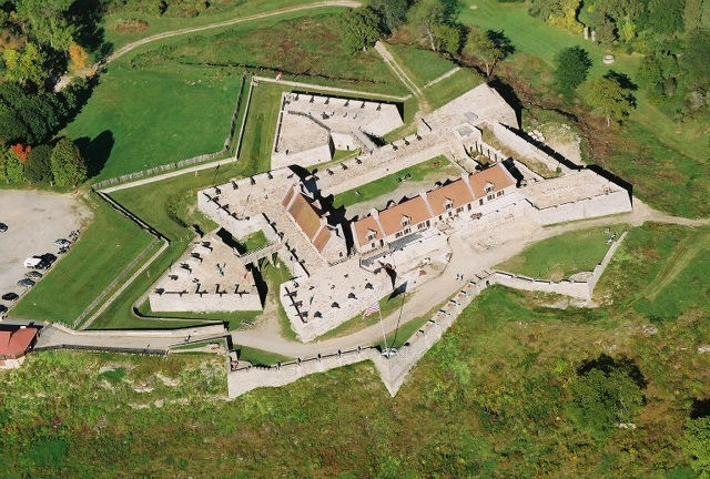 Ethan Allen and the Green Mountain Boys Sieze Fort Ticonderoga