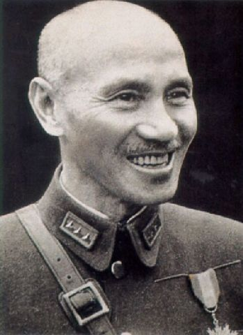Chiang Kai-shek moved to Formosa after defeat