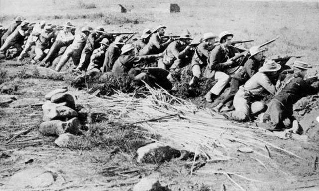 The Capture of the Boer Capitals