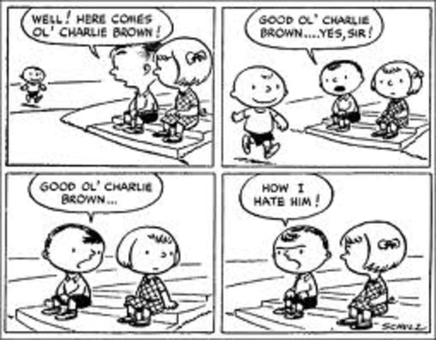 Fashion and Entertainment:  The First Peanuts Cartoon Strips are made
