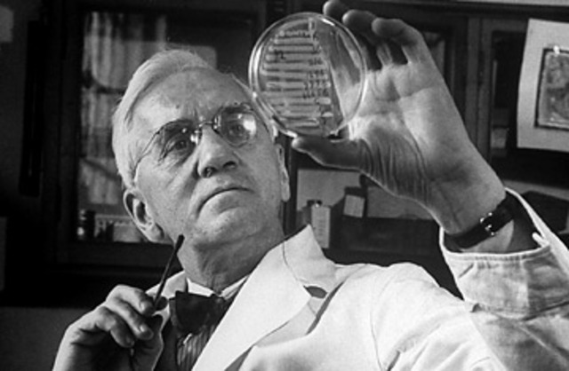 Alexander Fleming discovers penicillin