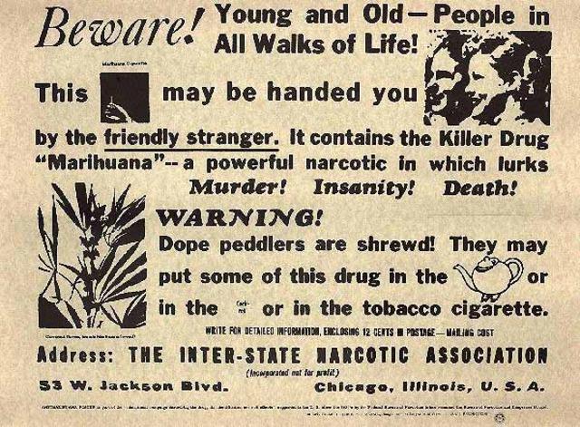 Federal Bureau of Narcotics formed