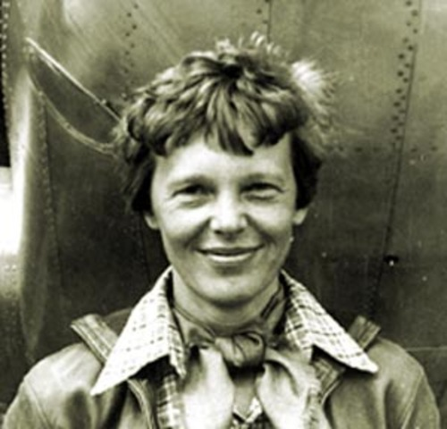 Amelia Earhart disappeared over the Pacific Ocean