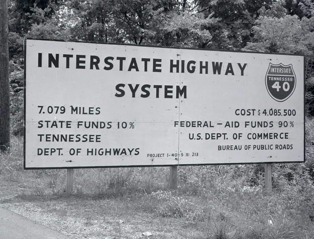 Work on the U.S. Interstate Highway System begins