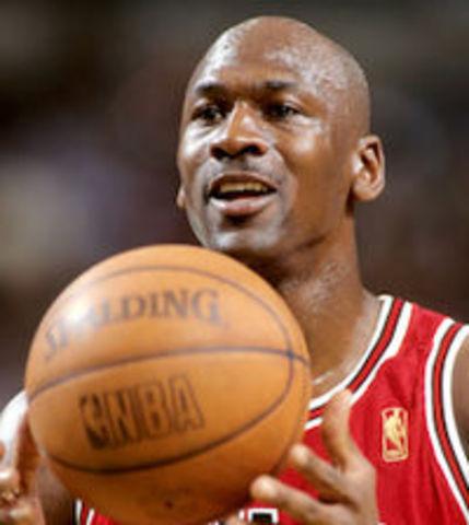 Michael Jordan retires from the NBA