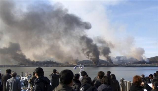 North Korea unexpectedly attacks South Korea
