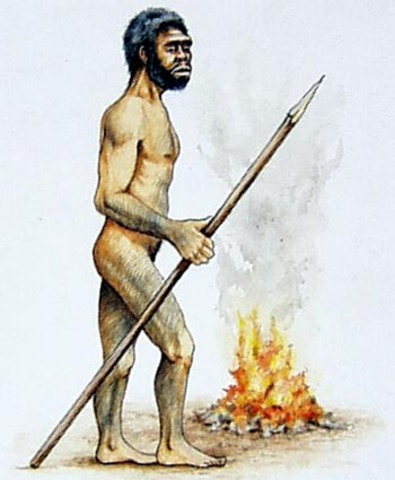 Homo Erectus (Hace 2 Millones de años