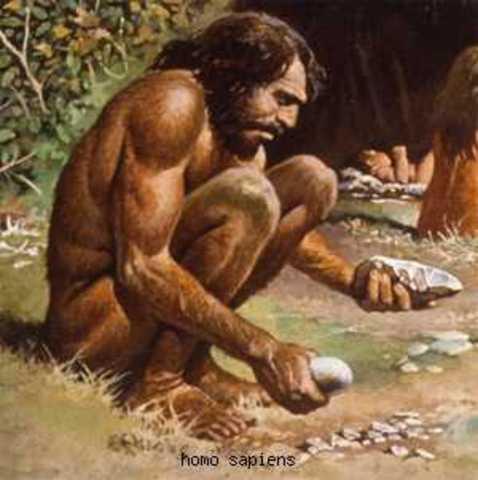 Homo sapiens (300 000- 30 000 a.C.)