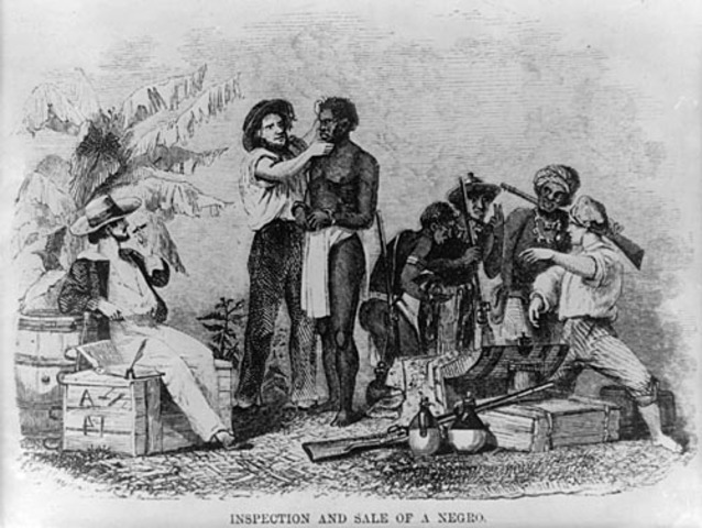 First Slave Arrives in Virginia