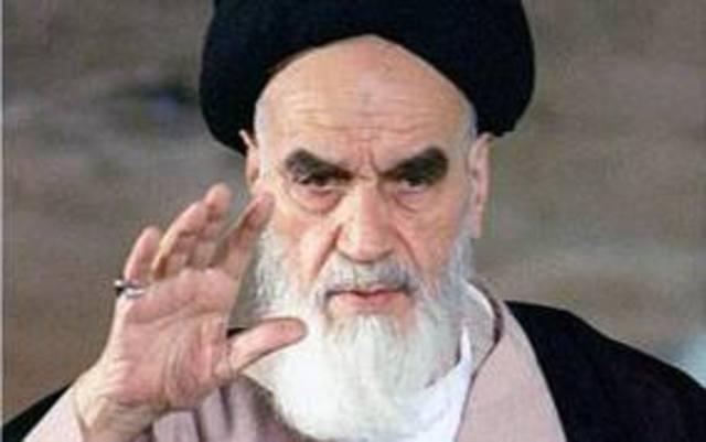 The Islamic revolution in Iran