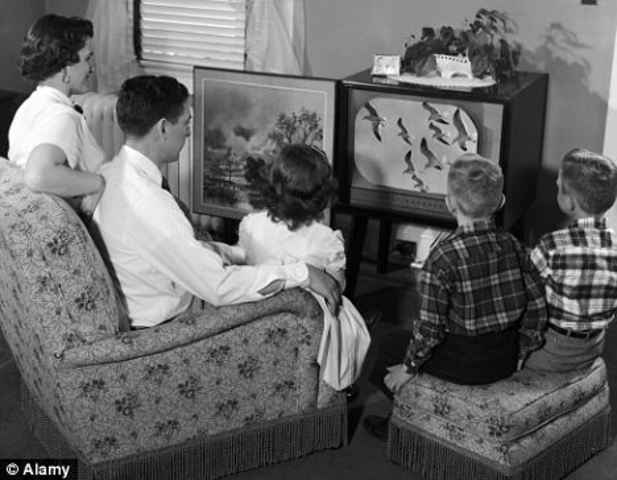 What T.V. was like...
