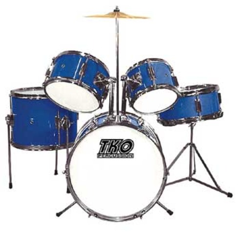Justin's First Drumset