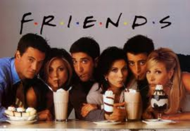 Fashion and Entertainment: Friends Tv Sitcom release