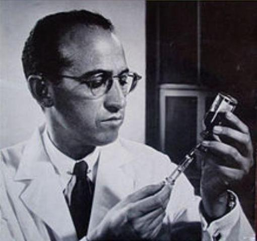 Sience and technology:  polio vaccine created