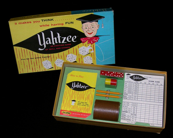 Science and technology:  Yahtzee was invented