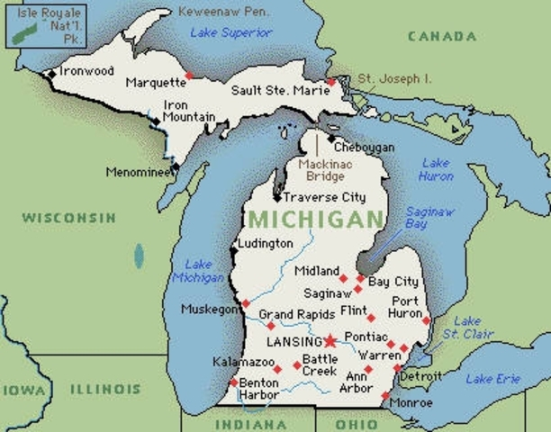Michigan Becomes a State