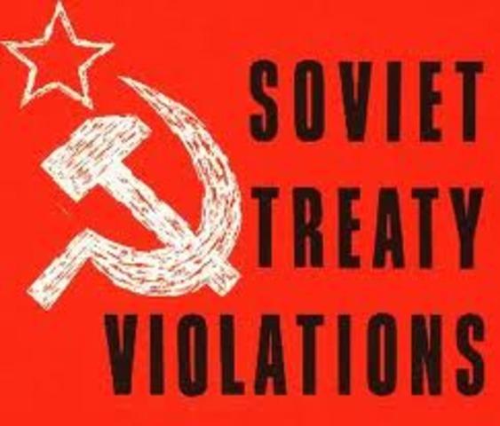 The treaty of Litovsk