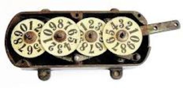 Samuel Morland's Mechanical Calculator
