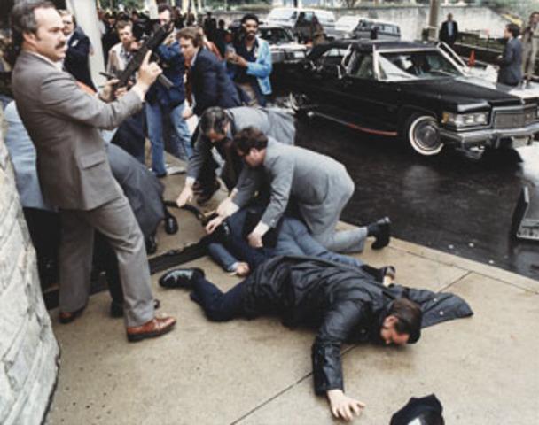 World Events - Ronald Regan gets shot