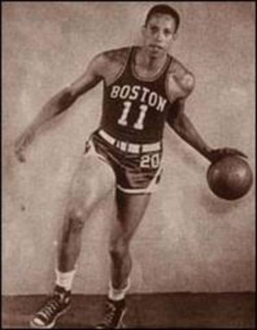 First Black Man to be drafted in NBA