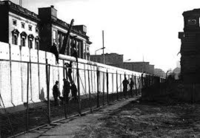 The Berlin Wall is Built