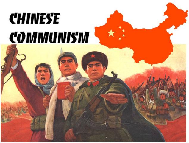 Communist take control of China