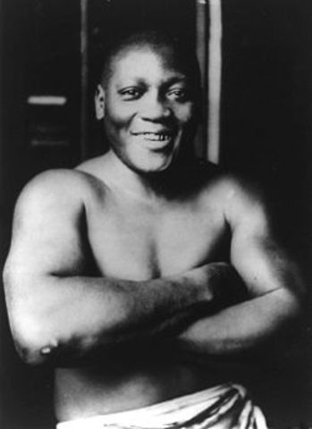 First African American Heavyweight Champion