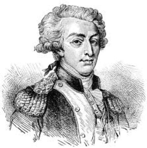 Marquis de Lafayette Arrives