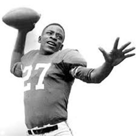 First African American NFL Quarterback