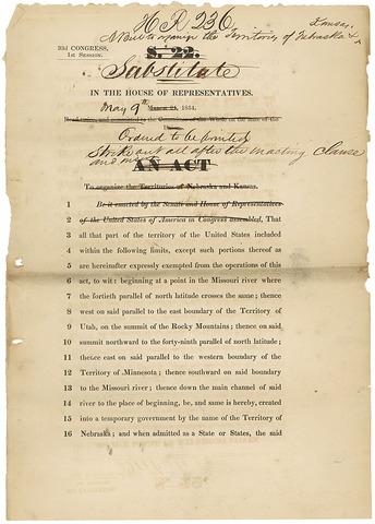 Kansas-Nabraska Act
