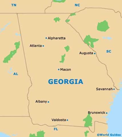 Augusta, Georgia Recaptured