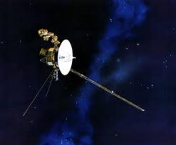 Voyager 1 space probe