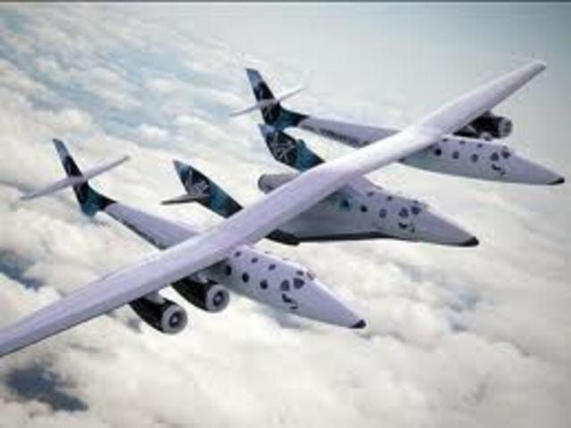Virgin galactic commercial space flight
