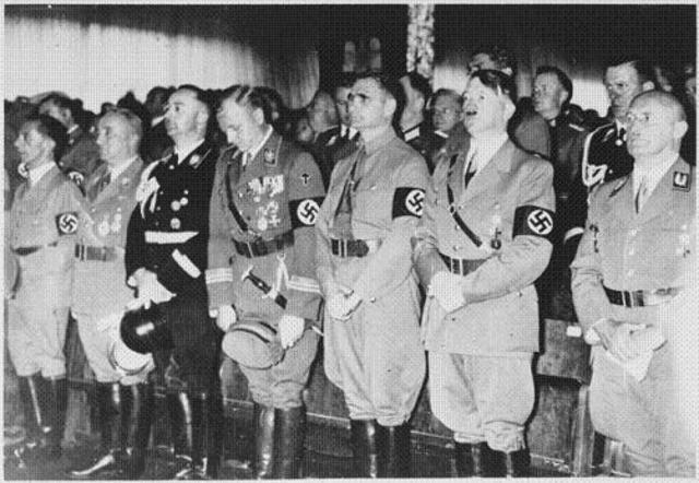 Hitler reorganises the party and the Nazi's rise of power