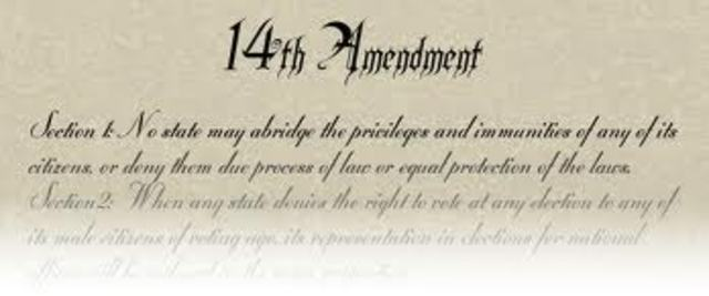 the 14th Amendment was passed