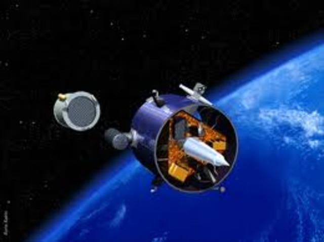 Entered lunar orbit