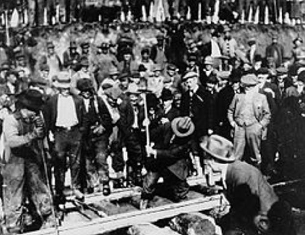 Grand Trunk Pacific Railway: The Last Spike