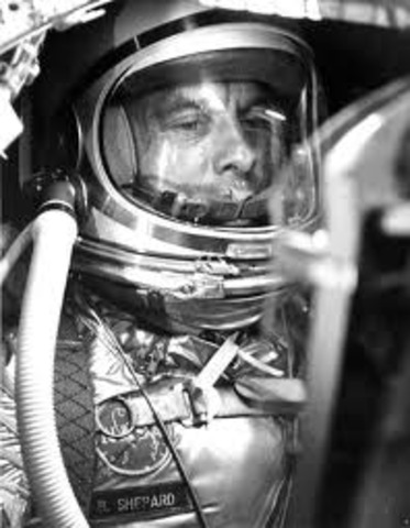 Science and Technology: The First American in Space