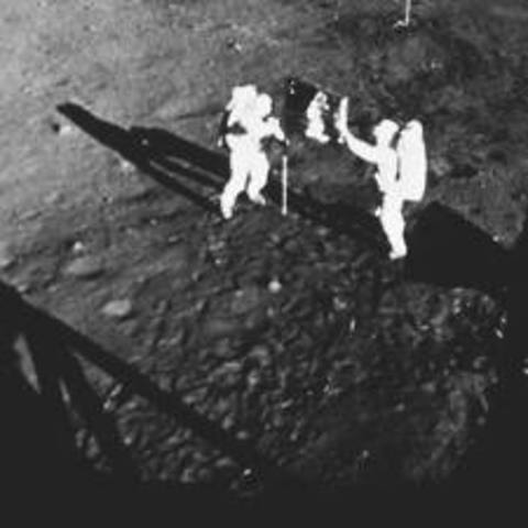 Science and Technology: The First Men Walk on the Moon