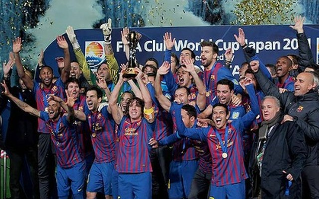 Champions of the world again